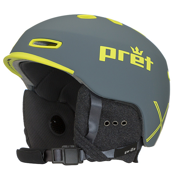Pret Cynic X Helmet, Rubber Slate Grey, 600
