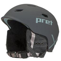 Pret Luxe X Womens Helmet 2018, Rubber Licorice, 256