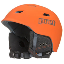 Pret Shaman Helmet, Rubber Orange, 256