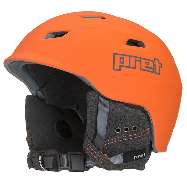 Pret Shaman Helmet 2018, Rubber Orange, 600