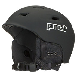 Pret Shaman Helmet, Rubber Team Black, 256