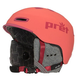Pret Lyric Womens Helmet 2018, Rubber Hot Coral, 256