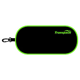 Transpack Goggle Shield 2018, Black-Lime, 256