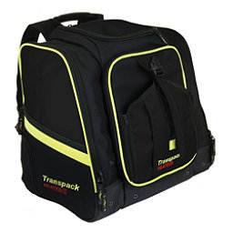 Transpack Heated Boot Pro XL Ski Boot Bag 2018, Black-Yellow Electric, 256