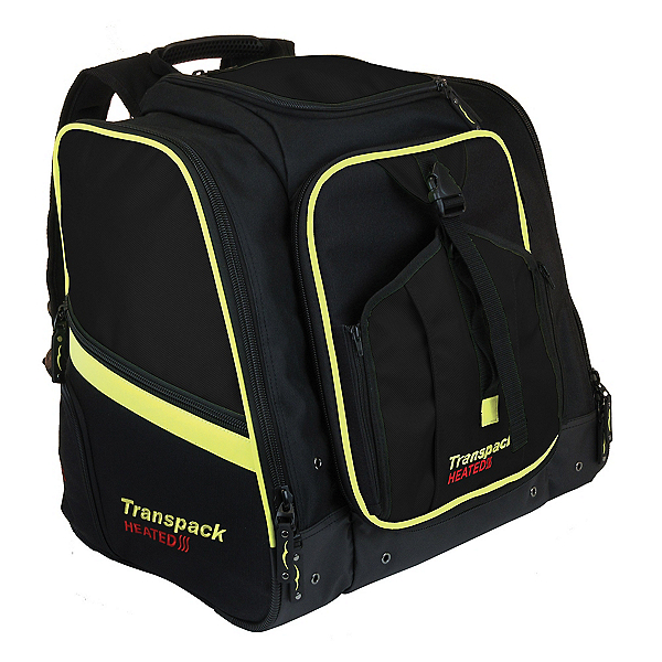 Transpack Heated Boot Pro XL 2021, Black-Yellow Electric, 600