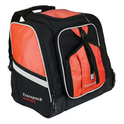 Transpack Heated Boot Pro XL Ski Boot Bag 2019, Orange-Silver Electric, 256
