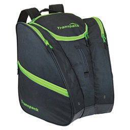Transpack Cargo Ski Boot Bag 2018, Black-Lime Electric, 256