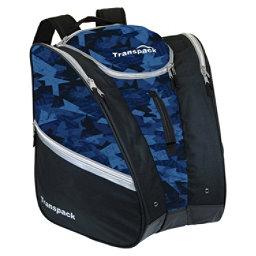 Transpack Cargo Ski Boot Bag 2019, Blue Camo, 256