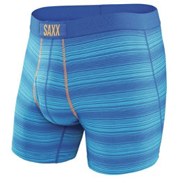 SAXX Ultra Boxer Fly, Royal Ombre Stripe, 256
