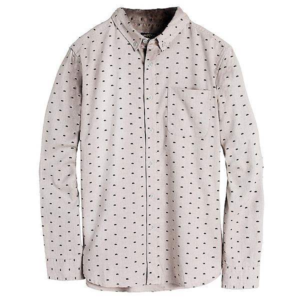 United By Blue Bison Print Mens Shirt, Grey, 600