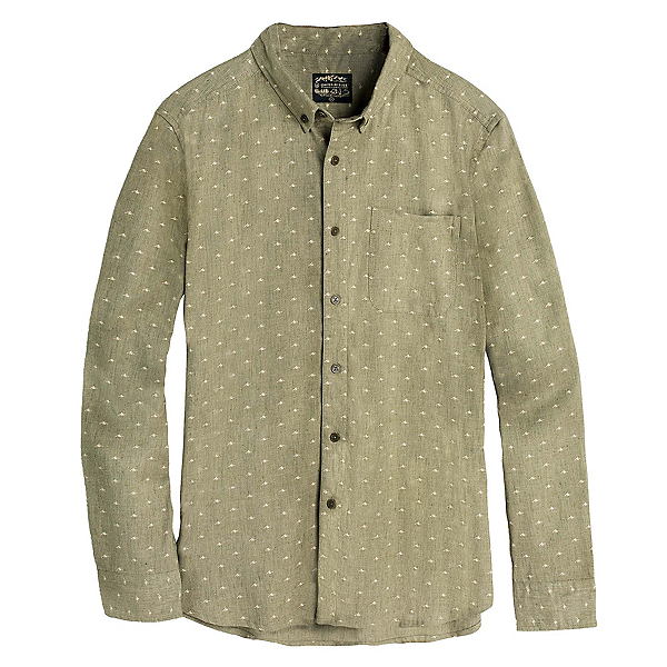 United By Blue Mountains Print Button Down Mens Shirt, , 600