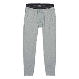 Burton Midweight Mens Long Underwear Pants, Monument Heather, 256