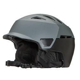 Bern Heist Brim Helmet 2018, Satin Grey Hatstyle, 256