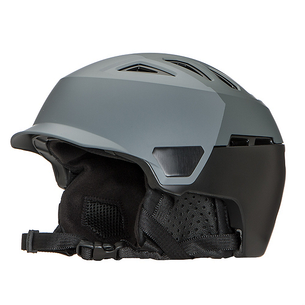 Bern Heist Brim Helmet 2018, Satin Grey Hatstyle, 600