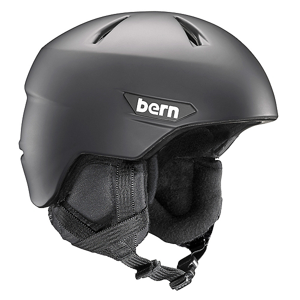 Bern Weston Helmet 2018, Matte Black, 600