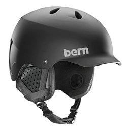 Bern Watts Helmet, Matte Black, 256