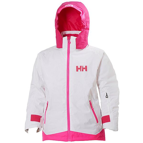Helly Hansen Lousie Girls Ski Jacket, White, 600