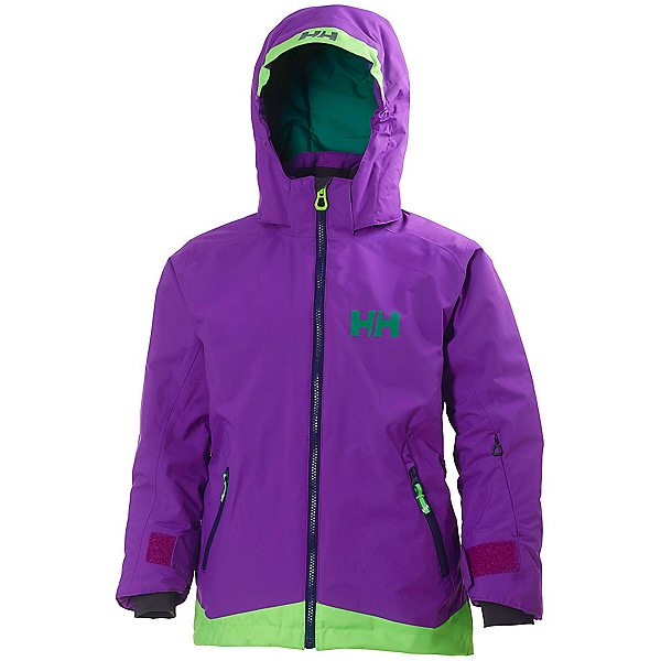 Helly Hansen Lousie Girls Ski Jacket, Sunburned Purple, 600