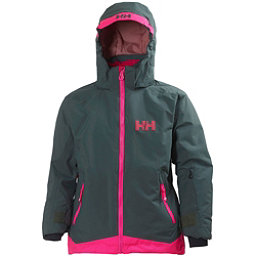 Helly Hansen Lousie Girls Ski Jacket, Rock, 256