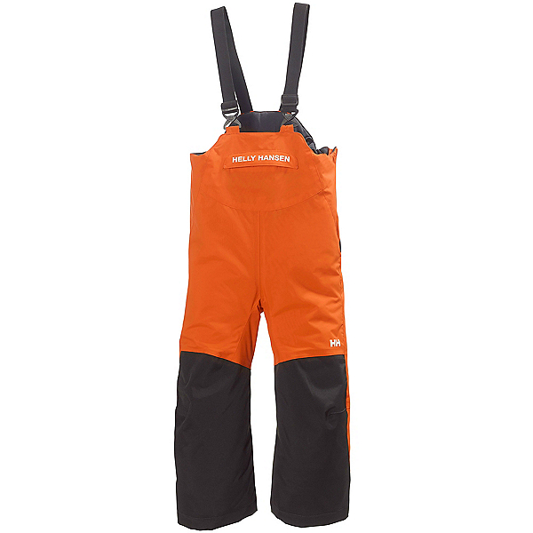 Helly Hansen Rider Insulated Bib Toddler Boys Ski Pants, Magma, 600