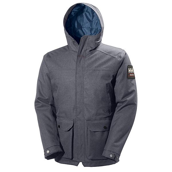 Helly Hansen Brage Parka Mens Jacket, Charcoal, 600
