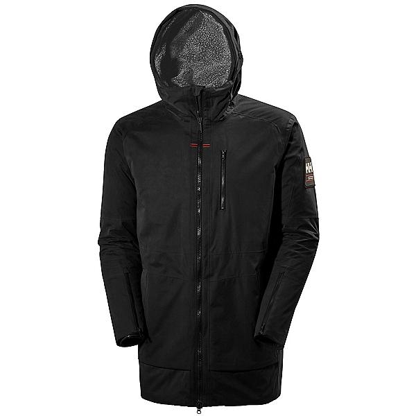 Helly Hansen Njord Parka Mens Jacket, Black, 600