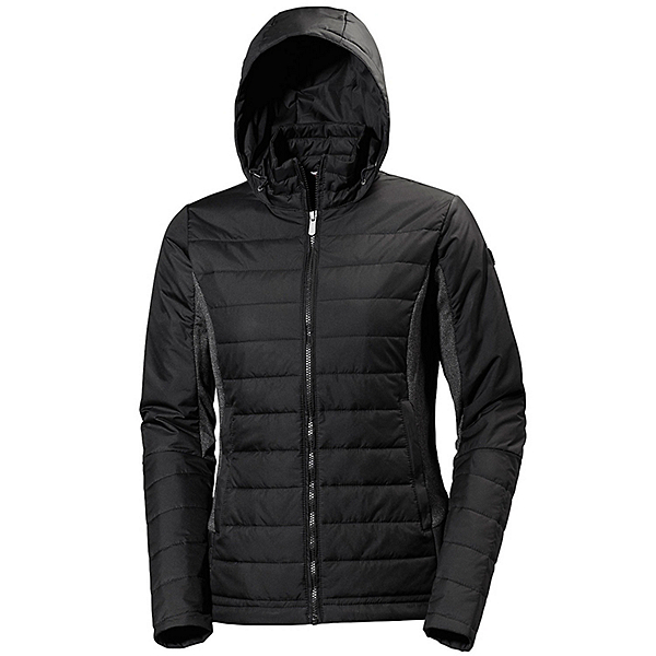 Helly Hansen Astra Hooded Womens Jacket, Black, 600