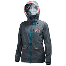 Helly Hansen Aurora Womens Shell Ski Jacket, Rock, 256