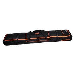 Sportube Ski Shield 2 Wheeled Ski Bag 2018, Black-Orange, 256