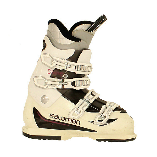 Used 2015 Womens Salomon Divine R60 Ski Boots US 7.5, , 600