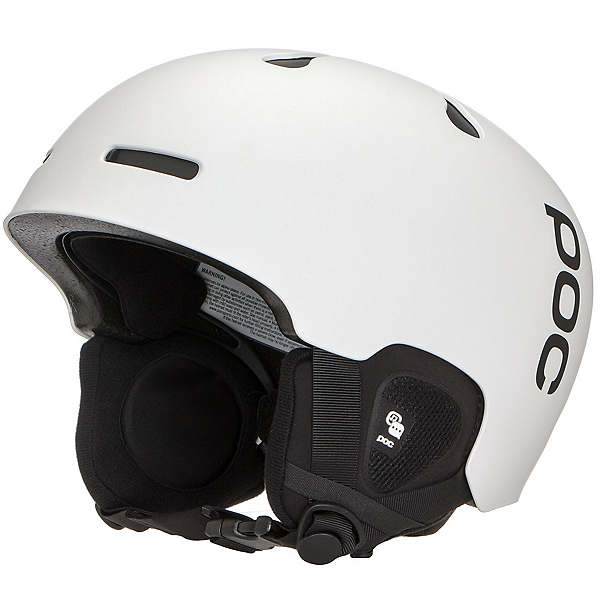 POC Auric Cut Communication Audio Helmet 2019, Matt White, 600