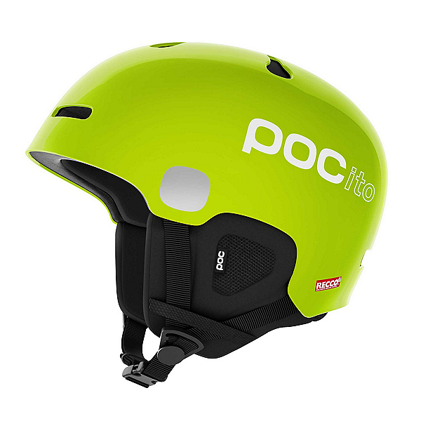 POC POCito Auric Cut Spin Kids Helmet, Fluorescent Yellow-Green, 600