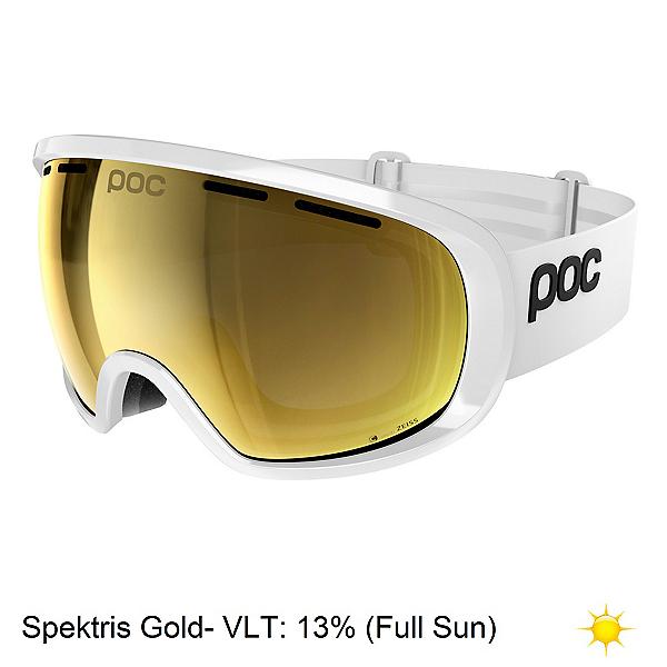 POC Foeva Clarity Goggles, Hydrogen White-Spektris Gold + Bonus Lens, 600