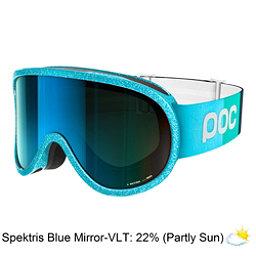 POC Retina Clarity Comp Womens Goggles 2018, Julia Blue-Spektris Blue + Bonus Lens, 256