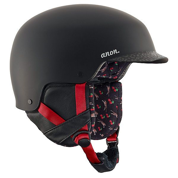 Anon Area Womens Helmet, Black Cherry, 600