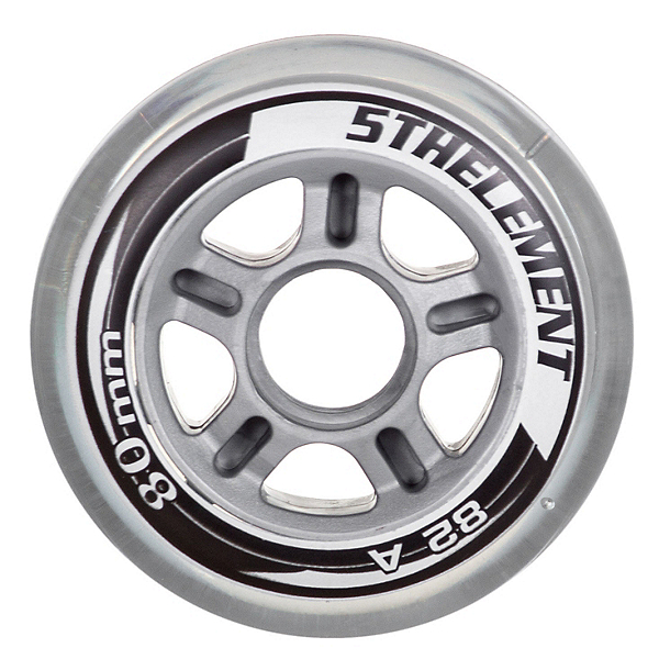 5th Element 80mm - 8 Pack Inline Skate Wheels 2018, , 600