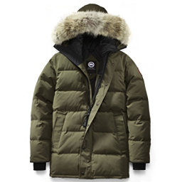 Canada Goose Carson Parka Mens Jacket, Military Green, 256