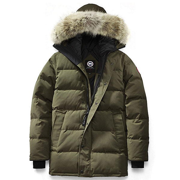 canada goose jacket green