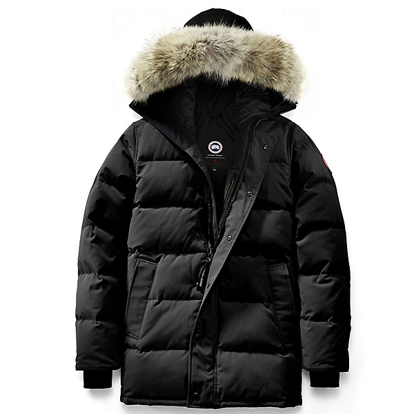 Canada Goose Carson Parka Mens Jacket, Black, 600