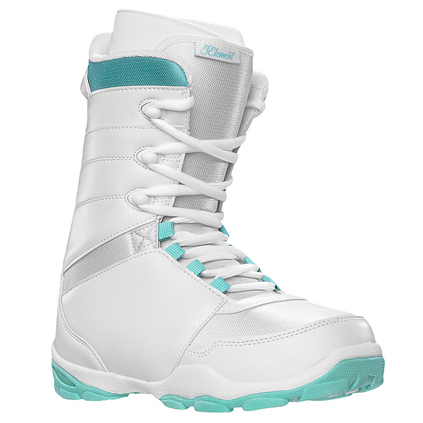 5th Element L-1 Womens Snowboard Boots, White, 600