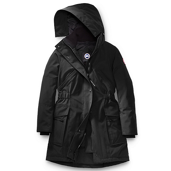 Canada Goose Kinley Parka Womens Jacket, Black, 600