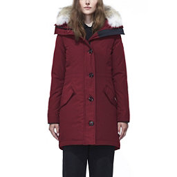 Canada Goose Rossclair Parka Womens Jacket, Red, 256