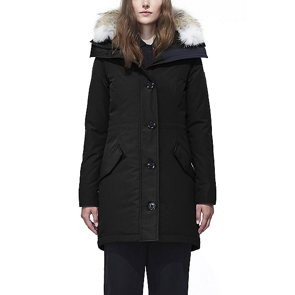 Canada Goose Rossclair Parka Womens Jacket, Black, 600