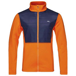 KJUS Charger Boys Midlayer Jacket, Kjus Orange-Atlanta Blue, 256
