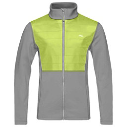 KJUS Charger Boys Midlayer Jacket, Steel Grey-Lime, 256