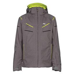 KJUS Formula DLX Boys Ski Jacket, Steel Grey, 256