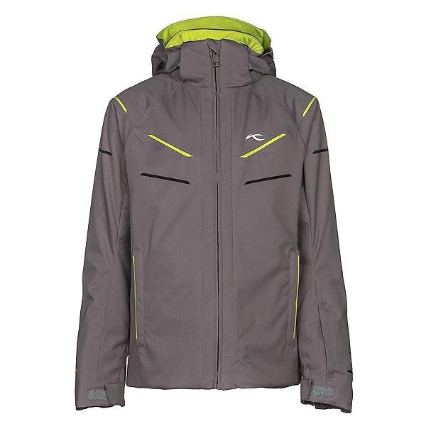 KJUS Formula DLX Boys Ski Jacket, Steel Grey, 600