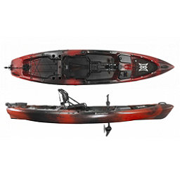 Perception Pescador Pilot 12 Kayak 2018, Red Tiger Camo, 256