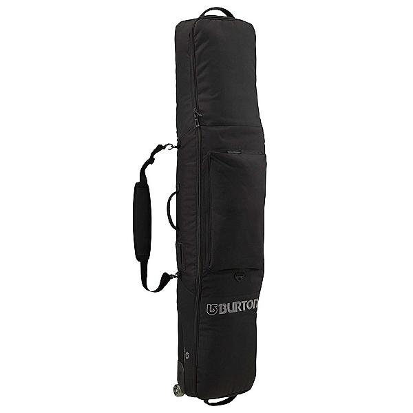 Burton Wheelie Gig 166 Wheeled Snowboards Bag, True Black, 600