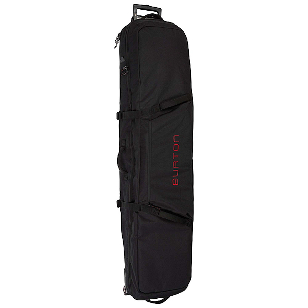 Burton Wheelie Locker 166 Wheeled Snowboards Bag, True Black, 600
